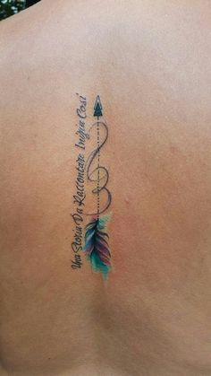 Arrow tattoo - Tattoo-Designs - Tattoo World Trendy Tattoos, Cute Tattoos, Beautiful Tattoos, Leg Tattoos, Body Art Tattoos, Girl Tattoos, Small Tattoos, Tattoos For Guys, Tatoos