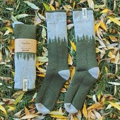 Solid and reliable, Treeline's Skookumchuck Wool Socks are built for fishing rough waters and trekking mountain ridges; keeping you warm...