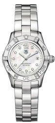 TAG Heuer Women's WAF141G.BA0813 Aquaracer Diamond Accented Watch