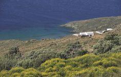 Paysage sauvage de l'île de Tinos