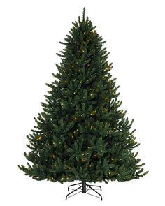 BH Fraser Fir Narrow Artificial Christmas Tree Marbles