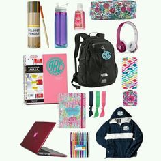 Tolle # Tipps / Essentials - Back To School Middle School Supplies, School Supplies Highschool, Highschool Freshman, Back To School Hacks, School Tips, School Ideas, School Routines, What's In My Backpack, Backpack Essentials