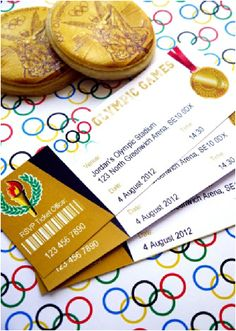 Olympics Inspired sports party printable invitations