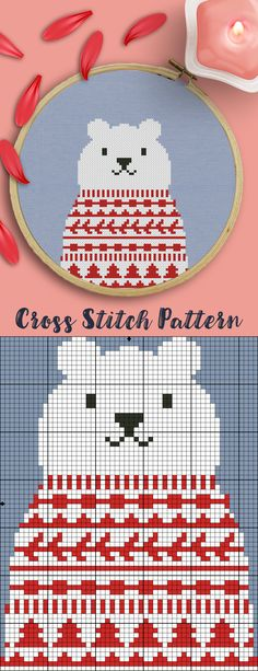Today I saw similar card and thought that it can be one of cute and funny cross stitch patterns. It's free and easy for beginners. I think it's also will be excellent Christmas gift stitched! See my (Crossaholic) other free patterns here: https://ru.pinterest.com/crossaholic/free-cross-stitch-patterns/