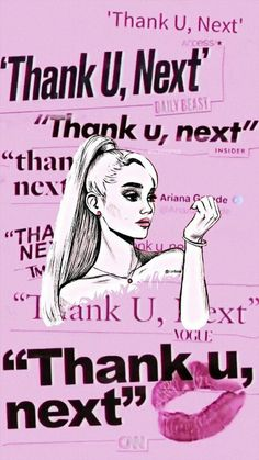 Wallpaper thank u, next - quotes - Hintergrund World Iphone Wallpaper Images, Makeup Wallpapers, Wallpaper Quotes, Cute Wallpapers, Mermaid Wallpapers, Wallpaper Ideas, Ariana Grande Drawings, Ariana Grande Wallpaper, Ariana Grande Quotes