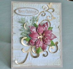 Pretty Poinsettia by cardmaker86 - Cards and Paper Crafts at Splitcoaststampers