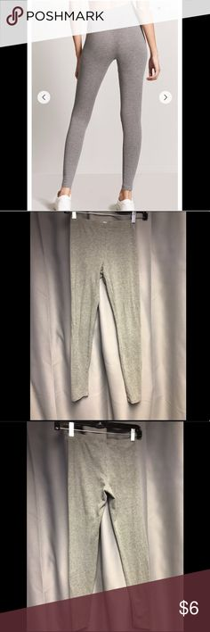 🌟F21 Basic Grey Legging🌟 94% Cotton 6% Spandex  Never worn! Forever 21 Pants Leggings