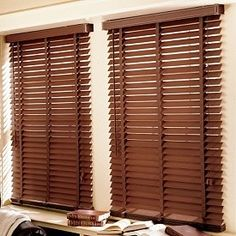 Wooden Venetian Blinds Bathroom Kitchen Woven Faux Wood