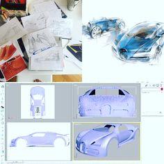 Working progress inspiration Bugatti