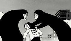 Persepolis graphic novel