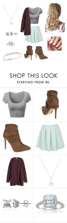 """Untitled #151"" by cls-lax ❤ liked on Polyvore featuring H&M, Roberto Coin, BERRICLE, Icz Stonez and Swarovski"