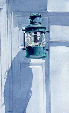 David Mesite Fine Art - Watercolors