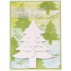 Creative Dies Nesting Christmas Tree die set - CraftStash