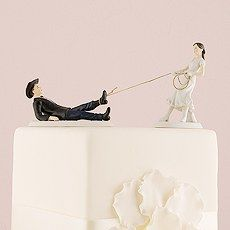 Western Lasso Wedding Cake Topper Mix and Match
