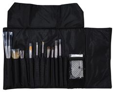 glo minerals Makeup Makeup Brush Roll | glo $25-$170 Description The glominerals roll-up brush bag conveniently stores your brush collection, enabling flawless applications at home or on-the-go. Available with or without a 12-piece set of our most popular glominerals tools.  The Full Brush Roll contains: Finishing Sponge Powder Brush Eye Contour Brush Ultra Brush Camouflage Brush Smudge Brush Dual Brow Brush Crease Brush Angled Blush Brush Lip Definer Brush Eye Base Brush Angled Eye Brush