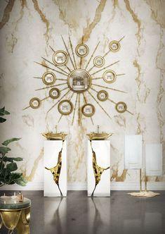Sophisticated bathroom design for a luxury interior #moderndesign #interiordesign #bathroomdesign luxury homes, modern interior design, interior design inspiration . Visit www.memoir.pt