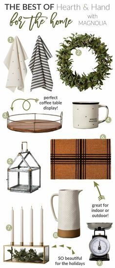 Magnolia Hearth and hand, Target collection, Hearth & Hand™️ – Chip & Joanna Gaines #farmhouse #farmhousedecor #Farmhousestyle #chipandjoanna #joannagaines #fixerupper #magnolia #industrial #rustic #targetcollection #diy #Christmas #Christmasgift #ad #ss