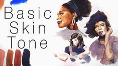 How to Paint a Basic Skin Tone in Watercolor