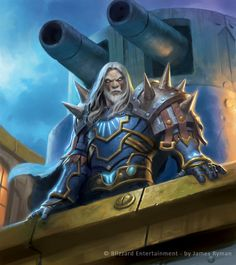 Warcraft TCG - Thassarian by ~namesjames on deviantART
