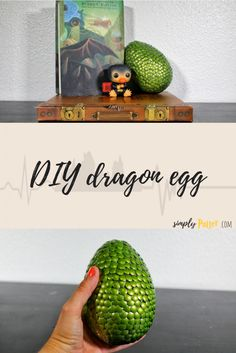 DIY Harry Potter ⚡ Dragon egg