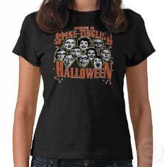 Halloween t shirt - Spine-Tingling! From RetroGiftIdeas