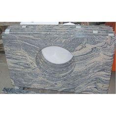 China Juparana Granite Bathroom Vanity Top Countertops Bathroomvanitiestop