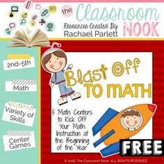 These 5 math centers are the perfect start to kick off your math curriculum at the beginning of the school year. The centers are designed to be basic enough for students to be able to complete without much instruction, using their math knowledge learned in previous years.