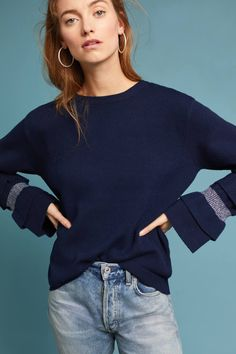 Shop the Ruffle-Sleeve Boat Neck Pullover and more Anthropologie at Anthropologie today. Read customer reviews, discover product details and more.