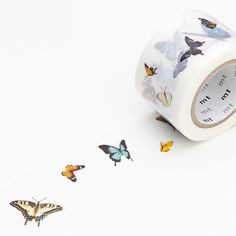 MT ex Butterfly Wide Washi Tape by foxandstar on Etsy Fabric Tape, Paper Tape, Cute School Supplies, Craft Supplies, Washi Tape Crafts, Washi Tapes, Paper Crafts, Planners, Organization Bullet Journal