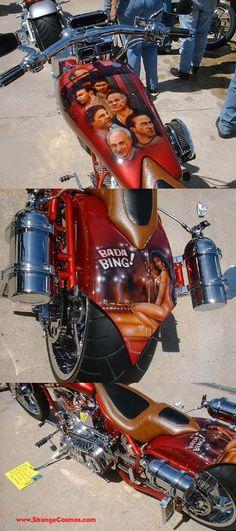 "COOL ""SOPRANOS"" MOTORCYCLE!"