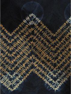 indigo shibori by Amelia Poole