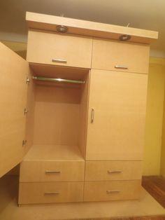 Decoraciones manualidades en madera como hacer un ropero for Como fabricar un armario