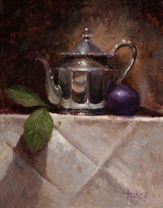 Pintura a óleo de Kathy Tate