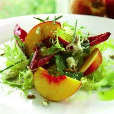 The Farmhouse Peach Salad | Charleston