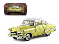 1954 Chevrolet Bel Air Yellow 1/32 Diecast Car Model by Arko Products