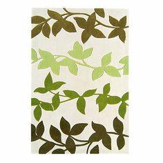 Debenhams  Green 'Harlequin Vine' rug  Item No.3220190104  Now £56.00 - £320.00
