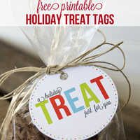 Free Printable Gift Tags {Printables Blog Hop} - Yellow Bliss Road
