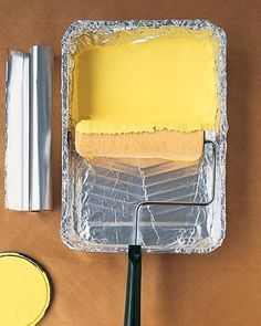 5 trucos de pintura con papel de aluminio, mi favorito el 4                                                                                                                                                                                 Más