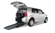 The Scion xB is stunningly roomy for a subcompact wheelchair accessible car that packs utility in a distinguished shell and is a great buy for the budget.