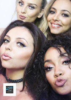 Selfie de Little Mix esta noche en #LateLateShow