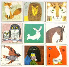 My Owl Barn: Alain Gree Vintage Memory Card