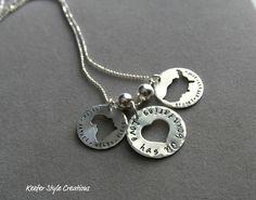 Hand Stamped Adoption Necklace