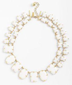 White Bridal Statement Necklaces | Featured on WedLoft