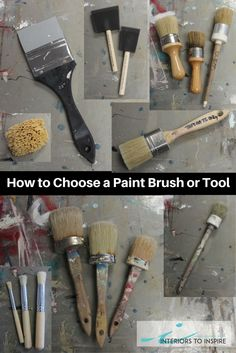 With an overwhelming amount of paint brushes and tools on the market it can be difficult to decide what's right for your project.   In this blog post we give you the run down for every brush we carry at the Interiors to Inspire studio here in Calgary, Ab.  Read the full post or check out more of our How To's by clicking the image.  Happy Painting