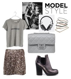"""""""Model Style"""" by perlaformentini ❤ liked on Polyvore featuring Vince, Burton, Design Inverso, Master & Dynamic, Madewell, Topshop, women's clothing, women, female and woman"""