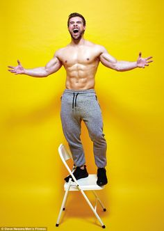 Ben Mudge, 25, from Newtownabbey, County Antrim, who suffers from cystic fibrosis, has been snapped up as Men's Fitness magazine's new cover star