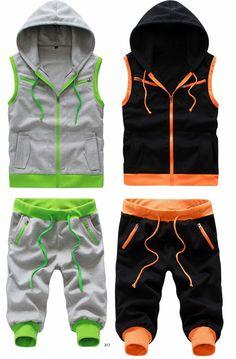 "Tattee Boy Clothes | Unisex ""Ultra"" Harem Gym Set"