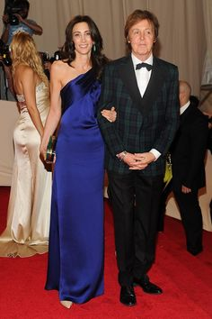 Paul McCartney and Nancy Shevell.
