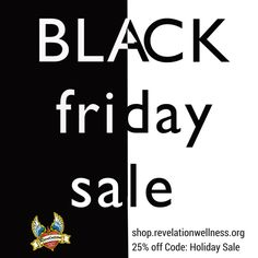 Save 25% off during our Black Friday Sale Thursday-Monday.  It's a great time to pick up one of our new designs!  Clearance is included. Bonus! Every $25 you spend, get a free love>fear wristband & for every $100 you can pick a free clearance tank! Use code: Holiday Shopping http://shop.revelationwellness.org/ #revwellapparel