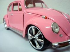PinkBug-I had a customized paint job.  My bug was a little more bubblegum. LOVED It!!!